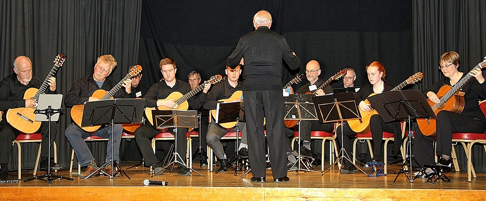 The Dorset Guitar Society members